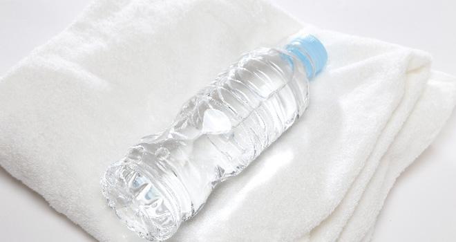 運動前に合計1500mlの水素水