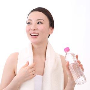 風呂上りに水素水