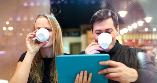 水素水でいれたコーヒーが美味しい