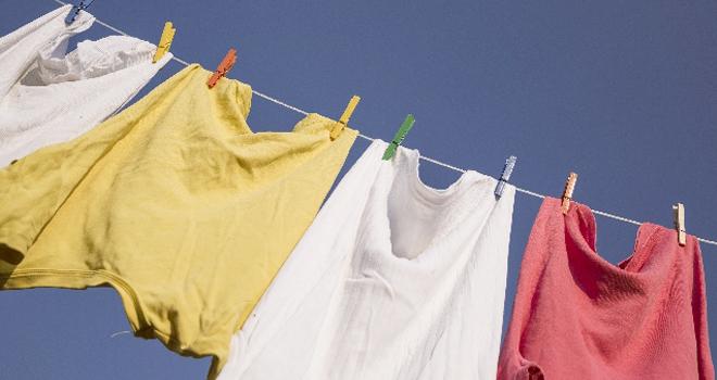 水素水で洗濯をする