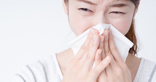 アレルギー性鼻炎に水素水が効く